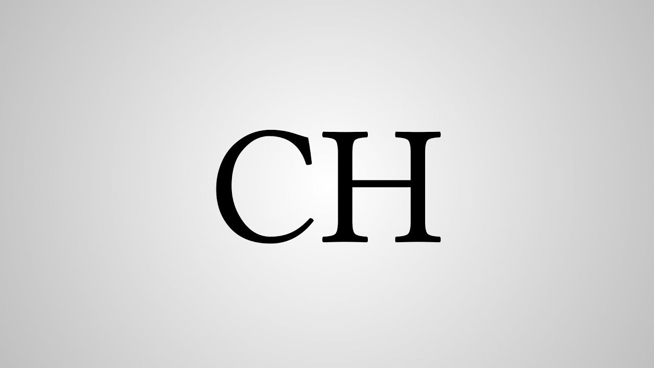 What Does Ch Stand For