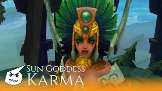 Sun Goddess Karma.face