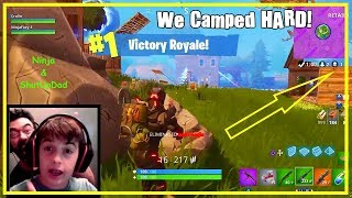 BEST Fortnite 12 Year Old Carries Dad In Duos