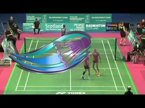 Badminton - Durkin / Vislova vs Arksey / Walker (XD, R32) - Scottish Open 2015