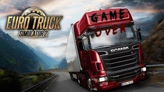 Euro Truck Simulator2 [FullHD PC] #ETS2 Ковзанки з друзями на 2 серваці й
