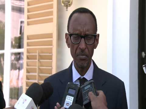 President Kagame meets with President of Cape Verde Dr. Jorge Carlos Fonseca- 5 February 2014
