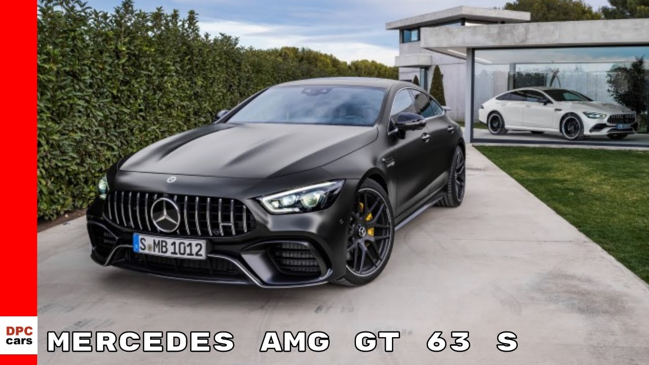 2019 mercedes amg gt 63 s 4matic 4 door coupe youtube. Black Bedroom Furniture Sets. Home Design Ideas