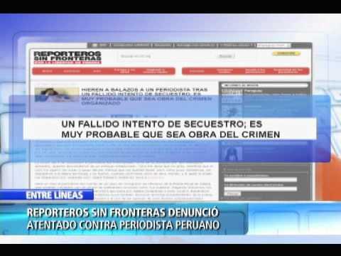 """Hieren a bala a periodista peruano del diario """"La República"""", tras fallido intento de secuestro"""