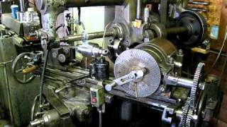 Milling , Cutting a helical gear