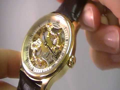 rotary mens mechanical skeleton watch gs02520 03