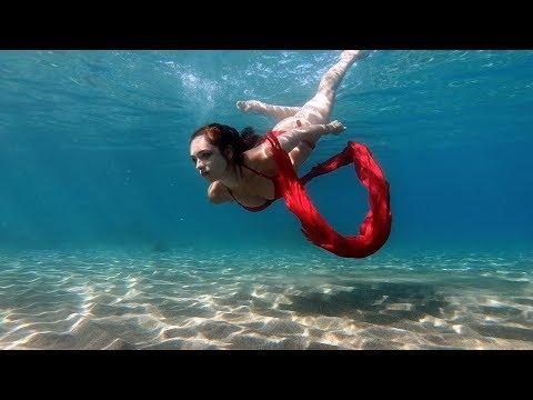 Arabian Underwater Dance | Fire on the waves