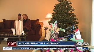 Single Mother Of Four Receives All New Furniture From Walker Furniture