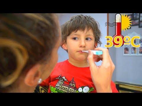 Sick Song Children Songs & Nursery Rhymes Kids 病気の歌 Fer Y Marcos