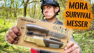 Mattins erstes MESSER! - Mora Bushcraft Survival Messer im EXTREM-TEST #6 | Survival Mattin