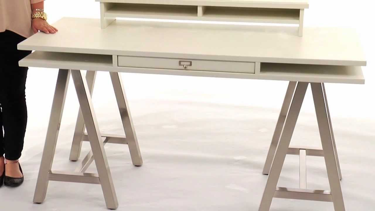 A Frame Storage Desk That Blends Style With Functionality Pbteen You