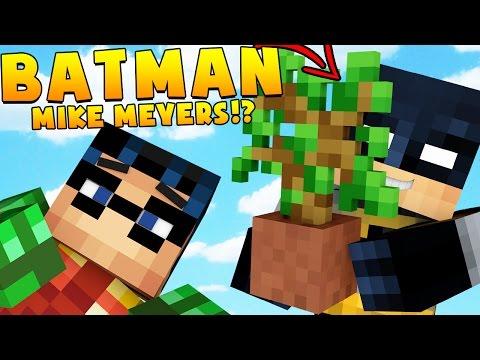 BATMAN MICHAEL MEYERS OMG HELP SAVE US | Minecraft - Mod Battle (MIKE MYERS)