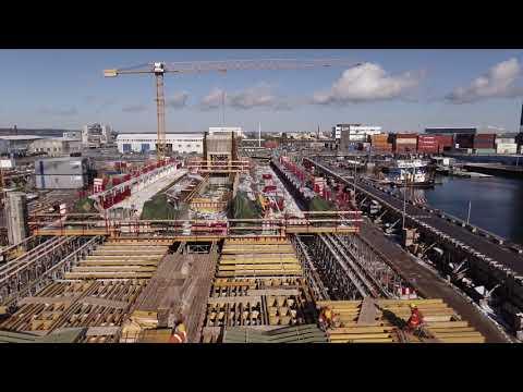 ZÜBLIN A/S - Project Copenhagen Metro: Drone Flight