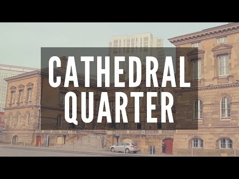 CATHEDRAL QUARTER - Belfast - Cobbled Streets & Alleyways to Hidden Bars & Restaurants In Belfast