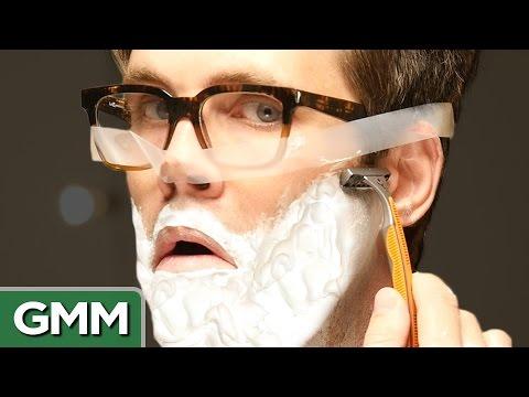 Trying Beauty Hacks for Men