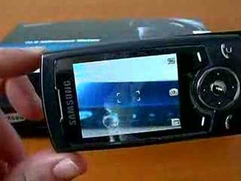 Presentation Samsung U600