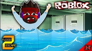 ROBLOX Indonesia #86 Flood Escape 2 | Escape from deadly fluids
