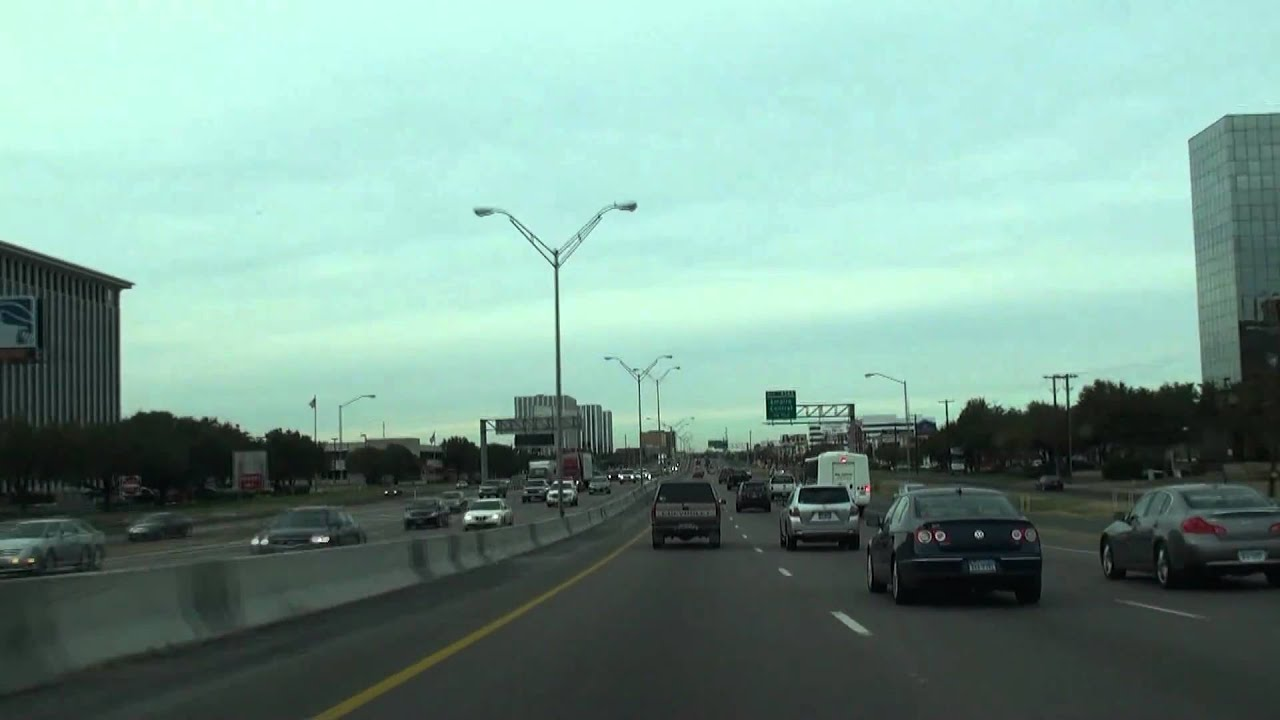 Dallas Speed Rush Hour Traffic