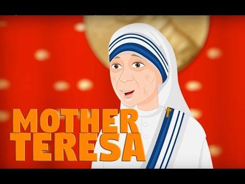 Story of Mother Teresa  | Saint Teresa of Calcutta | English | Story of Saints For Kids
