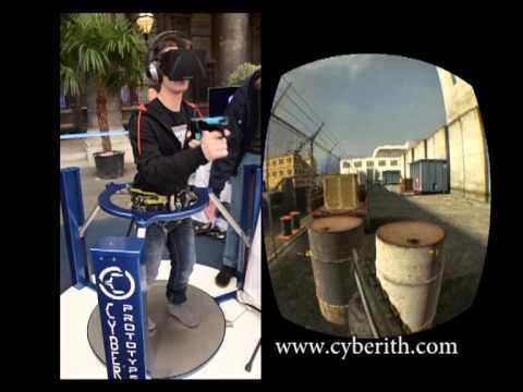Cyberith - Virtualizer @ the Game-City 2013 in Vienna