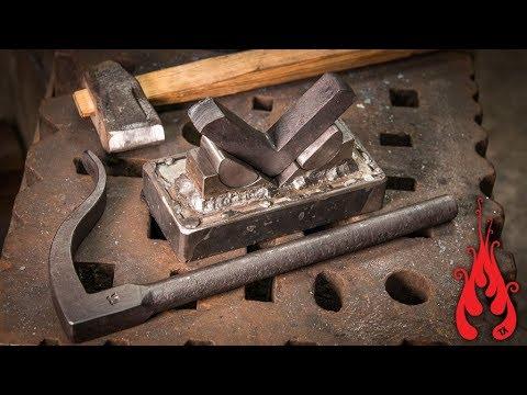 Blacksmithing - Square corner bolster experiment