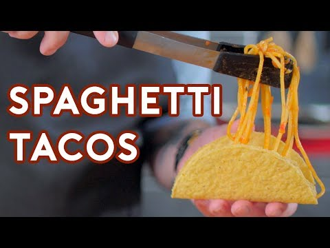 Binging with Babish: Spaghetti Tacos from iCarly - YouTube