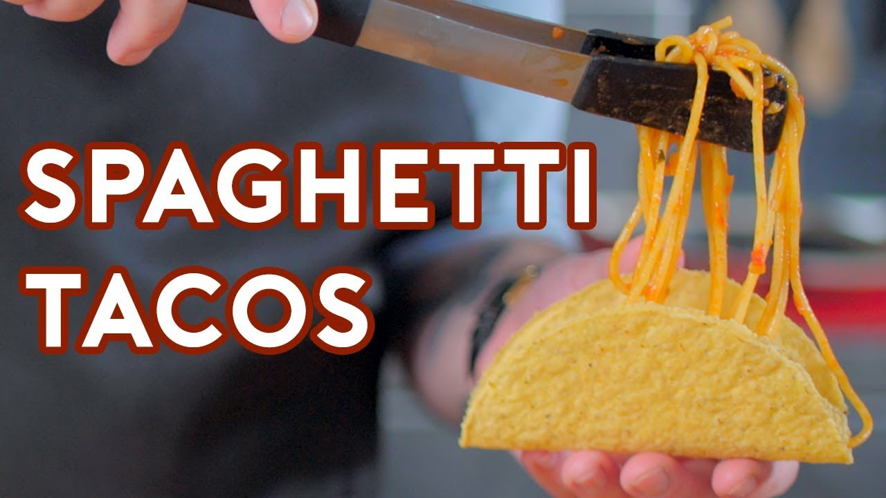 Binging With Babish Spaghetti Tacos From Icarly Youtube