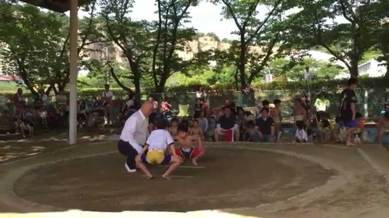 第3回わんぱく相撲高砂場所。1年...