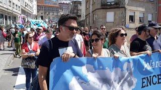 Marcha en Pontevedra y Marín para exigir que Ence abandone la ría