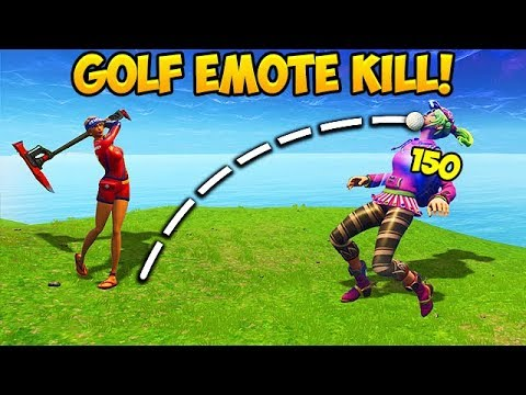 *FIRST EVER* GOLF KILL IN SEASON 5! - Fortnite Funny Fails and WTF Moments! #255 (Daily Moments)