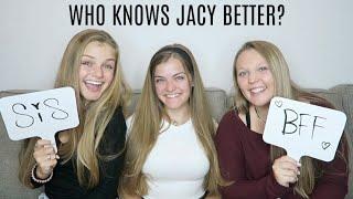 Who Knows Jacy Better? Sister vs Best Friend ~ Sis vs BFF ~ Jacy and Kacy
