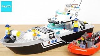 レゴ シティ ポリスパトロールボート 60129 /LEGO CITY, LEGO CITY Police Patrol Boat 60129