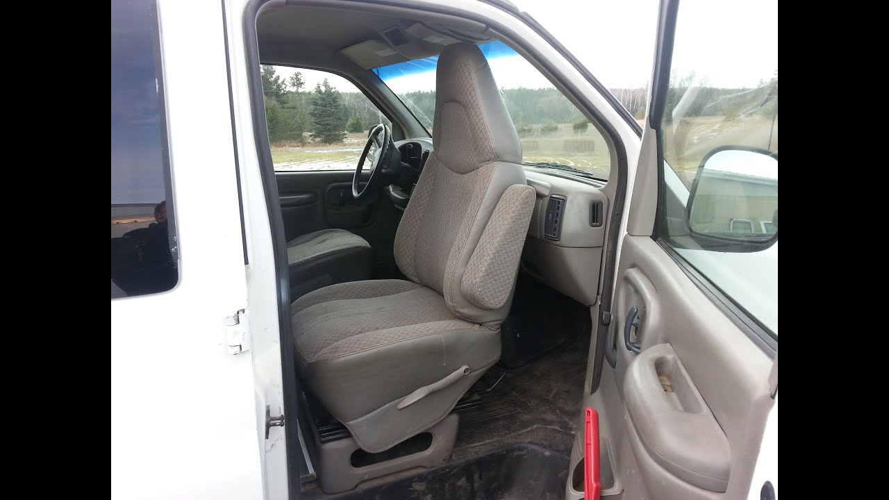 Van captain chair - Swivel Seat Van Project In Your Chevy Ford Gmc Dodge Van For About 30 Usd Youtube
