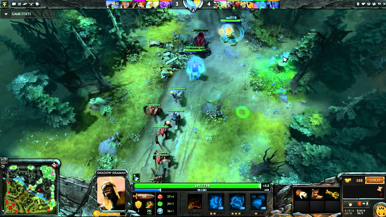 dota 2 shadow shaman commentary guide with ursa part 1 2