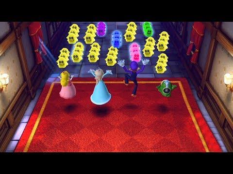 Mario Party Series Map | Waluigi, Rosalina, Peach, Spike  #16