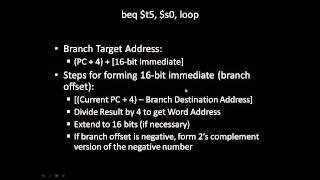 Converting MIPS Instructions to Machine Code