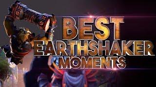BEST Earthshaker Moments in Dota 2 History