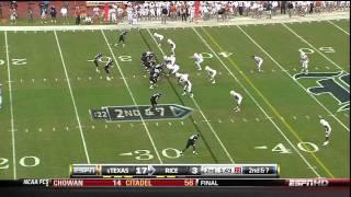 Texas Vs Rice Highlights 2010