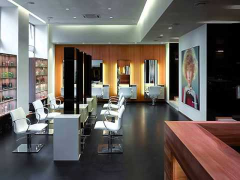 modern beauty salon furniture  youtube