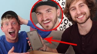 Download SURPRISING HIM WITH THE NEW iPHONE 11 PRO!! Mp3 and Videos