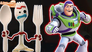 Forky & *CrAzY* Buzz Lightyear Toy Story | LittleBigPlanet 3