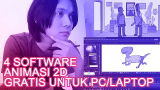 4 Software Animasi 2D Gratis Untuk PC & Laptop screenshot 2