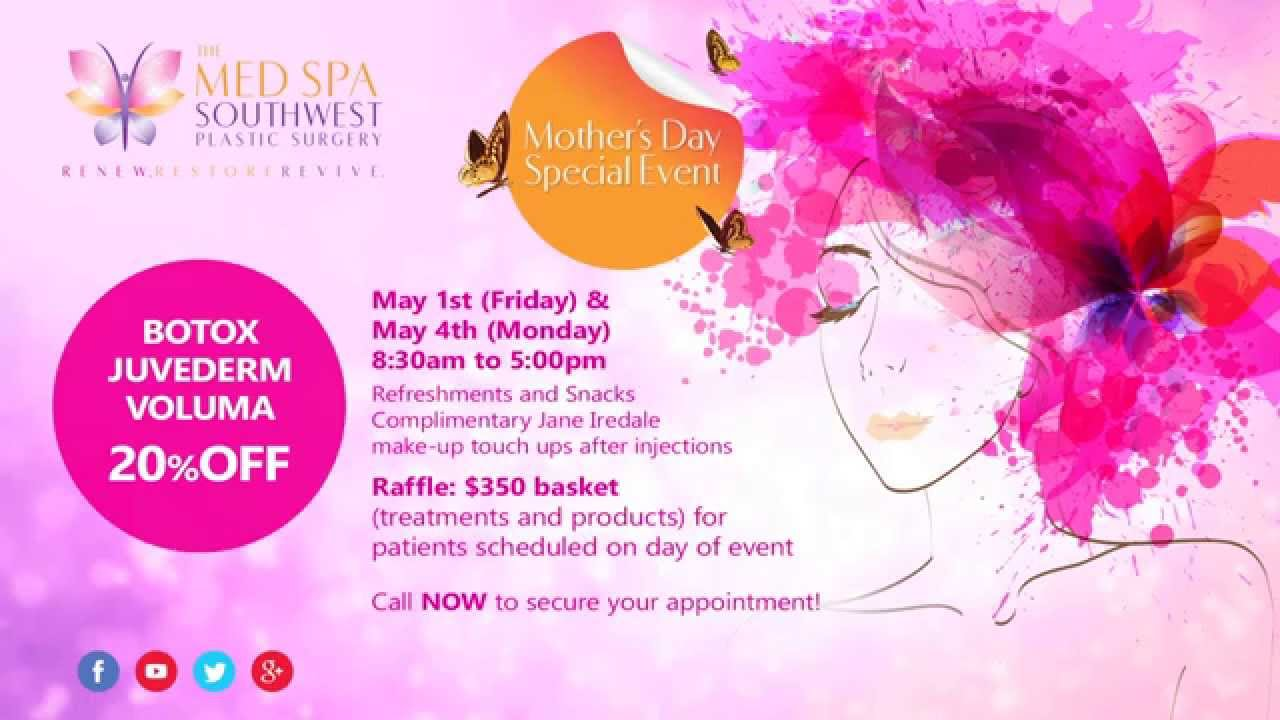 Mother's Day Special Event at The MedSpa Southwest Plastic ...