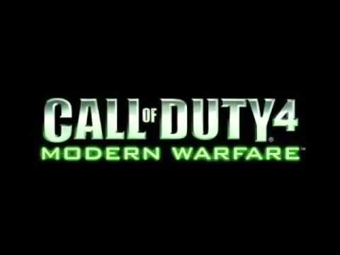 Call of Duty 4  Modern Warfare OST   The Coup