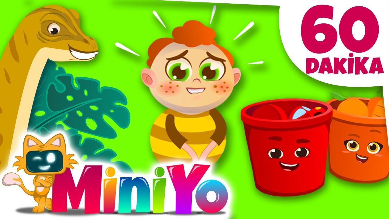 Miniyo Çocuk Şarkıları   1 Saat Kesintisiz Şarkılar