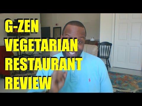 G Zen Vegetarian Restaurant Review