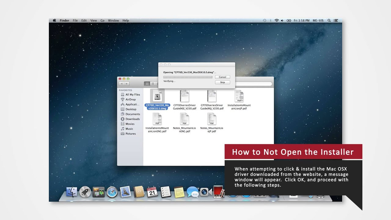 cp-d70dw driver installation - mac osx 10.8 - youtube