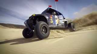 Turbo RZR XP1000 vs Turbo RZR XP900 battle in the dunes