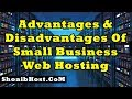 Advantages And Disadvantages Of Small Business Web Hosting Part-5 ShoaibHost.Com