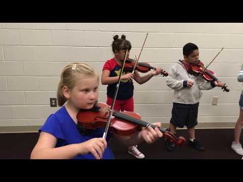 Suzuki Strings at Shoally Creek Elementary School!